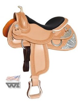 The Platinum Show Saddle