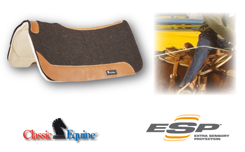 Classic Equine ESP Felt Top Pad