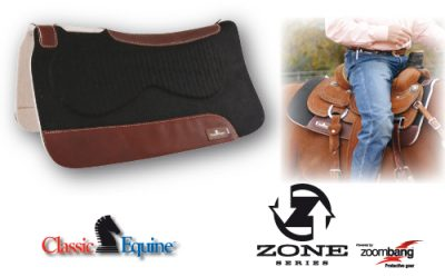 Classic Equine Zone Series Felt/Felt Pad