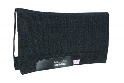 Professional's Choice Comfort-Fit SMx H.D. Air Ride Pad Black