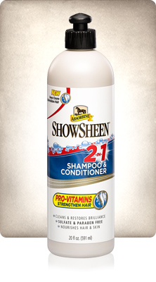 Absorbine ShowSheen 2 in 1 Shampoo&Conditoner