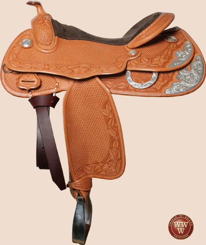 Big Butterfly Reining Saddle
