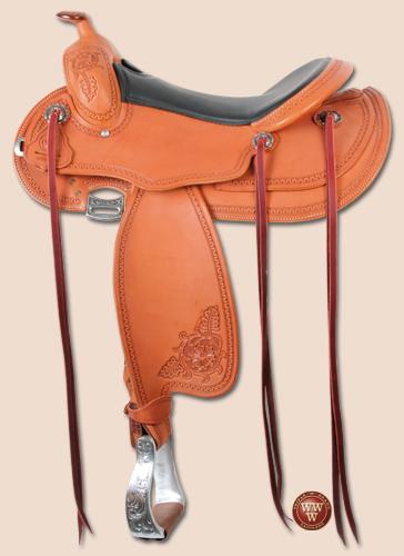 Round Reining Saddle
