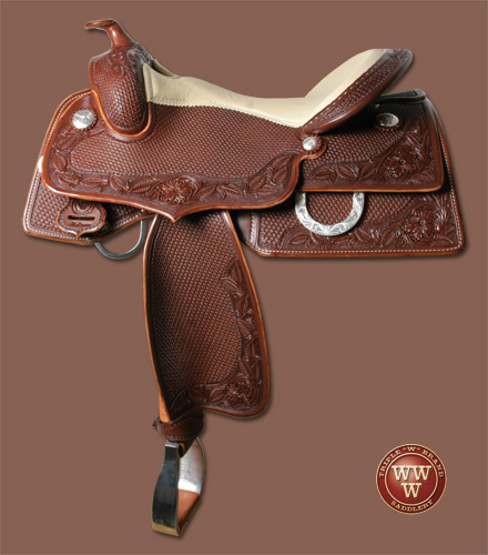Square Reining Saddle