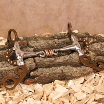 Shank Snaffle Argentine 12,7 cm