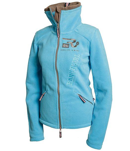Ranchgirl Fleece Jacket Amber Ocean