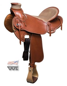 Lady's Buckaroo Saddle