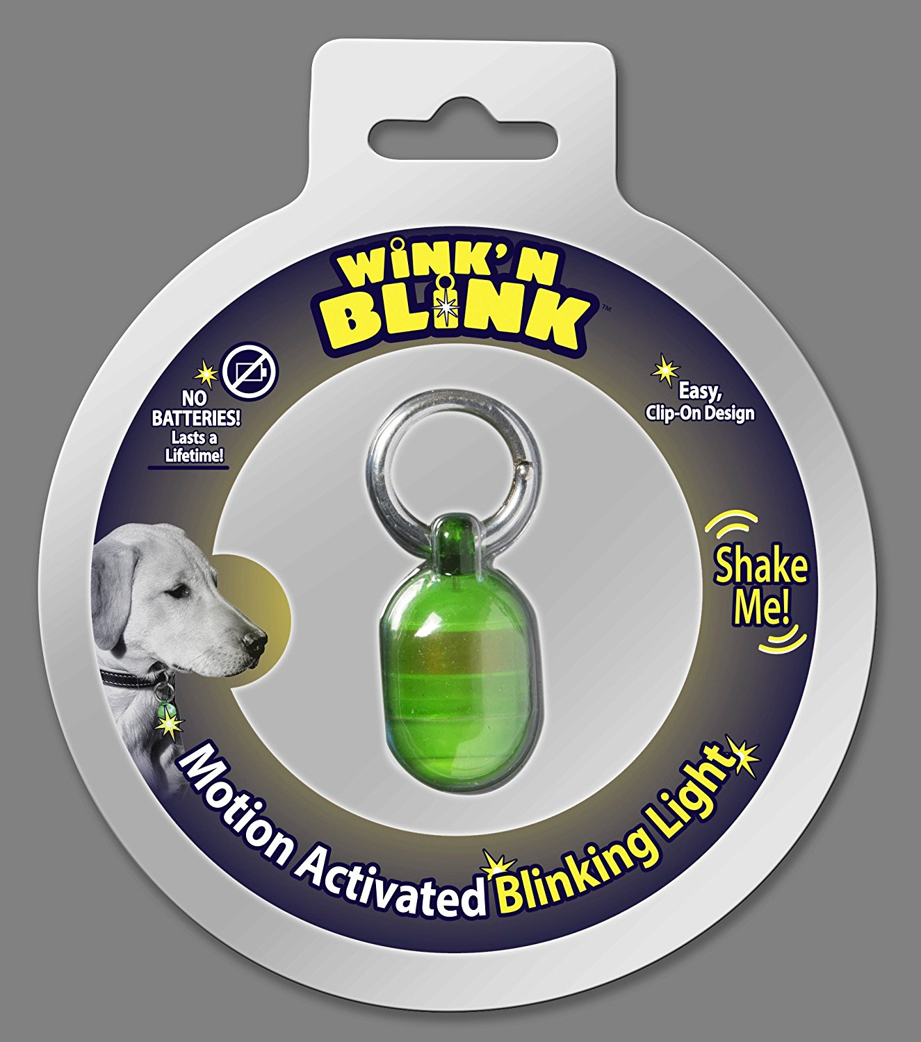 Wink'n Blink Motion Activated Blinking Light