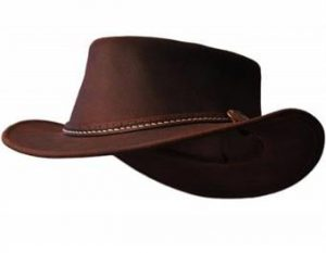 Nahkahattu Bushfire Leather Hat Yallingup