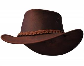 Hattu Bushfire Leather Hat Gnaraloo