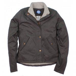 Key Berber Lined Quilted Jacket takki