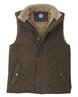 Key Ladies Berber Lined Quilted Vest liivi