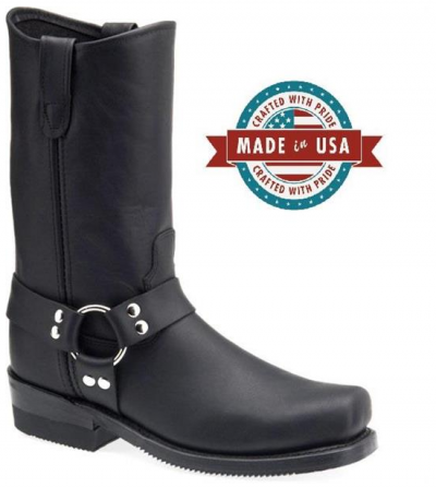 Double-H Harness Biker Boots Barry