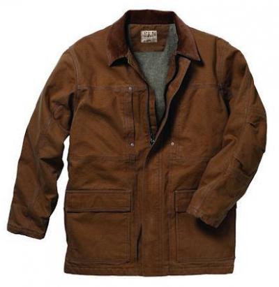 Key Insulated Lined Chore Coat takki