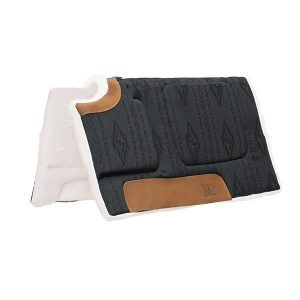 Weaver All Purpose Built-Up Cut Back Saddle Pad Merino Wool