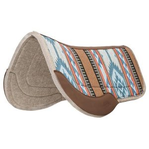 Weaver All Purpose Trail Gear Contoured Wool Blend Saddle Pad