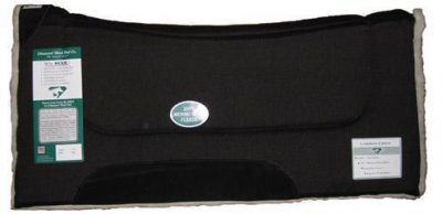 Diamond Wool Contoured Comfort Wool Fleece Pad