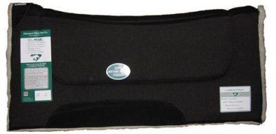 Diamond Wool Contoured Comfort Wool Fleece Pad