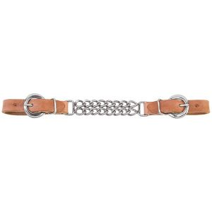 "Kuolainketju Double 4 1/2"" Harness Leather"