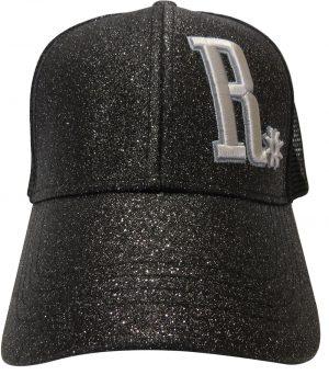 Cap Ranchgirl Glitter Black lippalakki