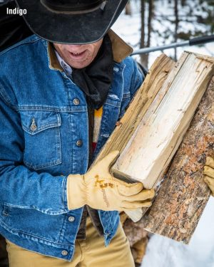 Schaefer Legend Denim Jacket with Fleece Lining Farkkutakki fleecevuorella