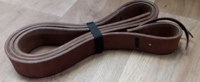 Vastinhihna pitkä Cattleman's Latigo Tie Strap Harness