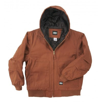 Key Insulated Hooded Duck Jacket takki