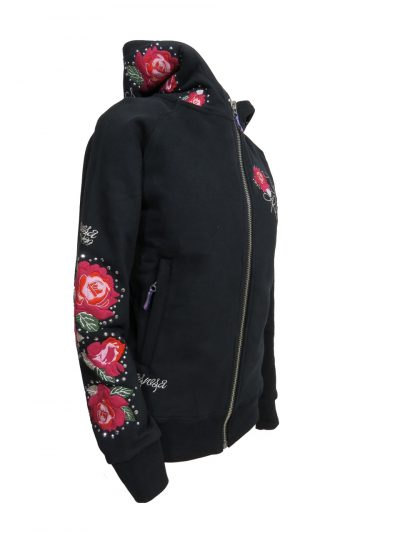 OSWSA Women Hooded Sweat Jacket Run for The Roses huppari