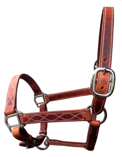 Riimu Leather Halter Premium Harness, Cattlemans