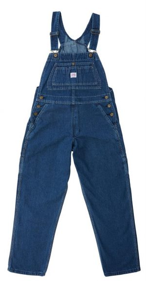 Farkkuhaalarit Key Women's Denim Bib Overall