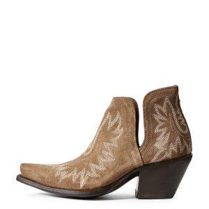 Ariat Women's Dixon Western Boot, Dijon Suede