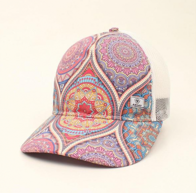 Cap Ariat GlasPrint, Ladies lippalakki