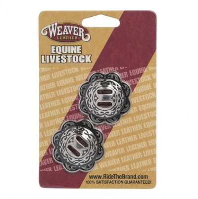 Concho with Slots Horse Shoe 1 3/4""