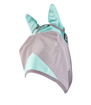 Hyönteismaski Fly Mask Crusader Designer with Ears, Mint