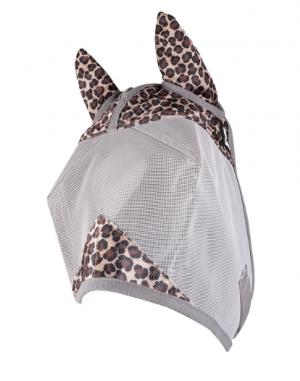 Hyönteismaski Fly Mask Crusader Designer with Ears, Leopard