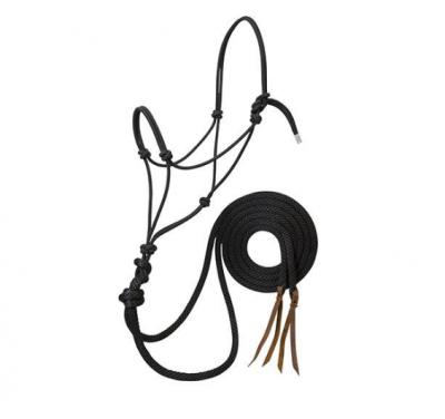 Naruriimu Silvertip Rope Halter with Reins