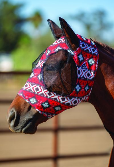 Hyönteismaski Professional's Choice Comfort Fit Fly Mask Firebird