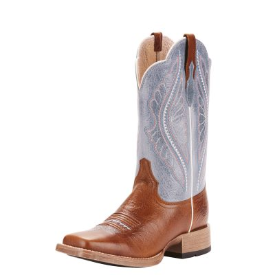 Ariat Women's PrimeTime Western Boot, Gingersnap