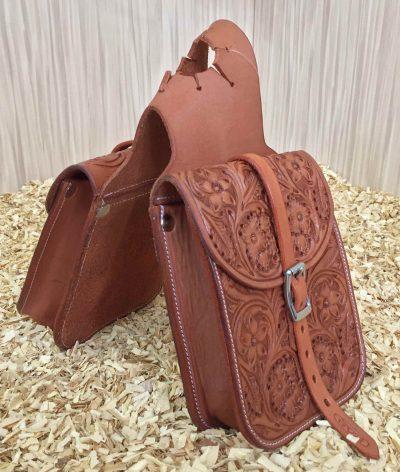 Satulalaukku GVR Horn Bag, flower tooling
