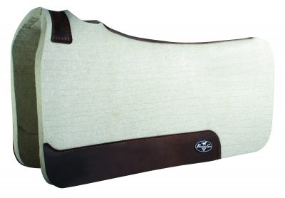 Professional's Choice Steam Pressed Comfort-Fit Felt Saddle Pad