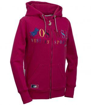 OSWSA Women Hooded Jacket Selma hotpink huppari