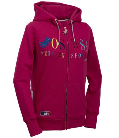 OSWSA Women Hooded Jacket Selma hotpink huppari
