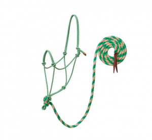 Naruriimu Weaver EcoLuxe Bamboo Rope Halter with 10' Lead