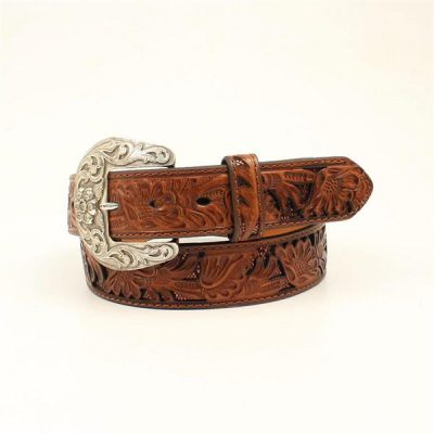 Vyö Nocona Flower Print Ladies Belt