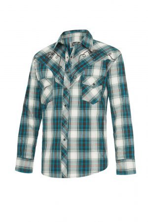 Stars & Stripes Westernpaita Mens Jeff Blue