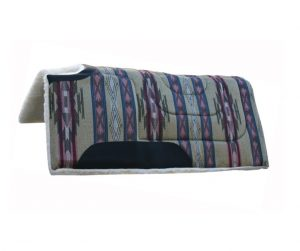 Mustang South West Saddle Pad Cut Back & Build Up