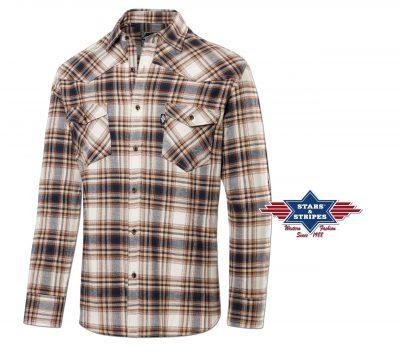 Stars & Stripes Westernpaita Mens Flannel