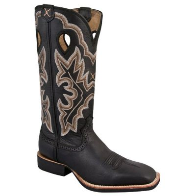 Twisted X Women's Ruff Stock Boot Black