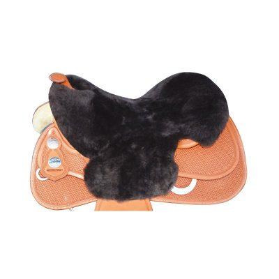 Istuinpehmuste lampaankarvaa Fur for Western Saddle
