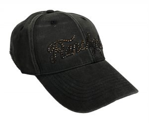 Cap Ranchgirl Black Dyed Out